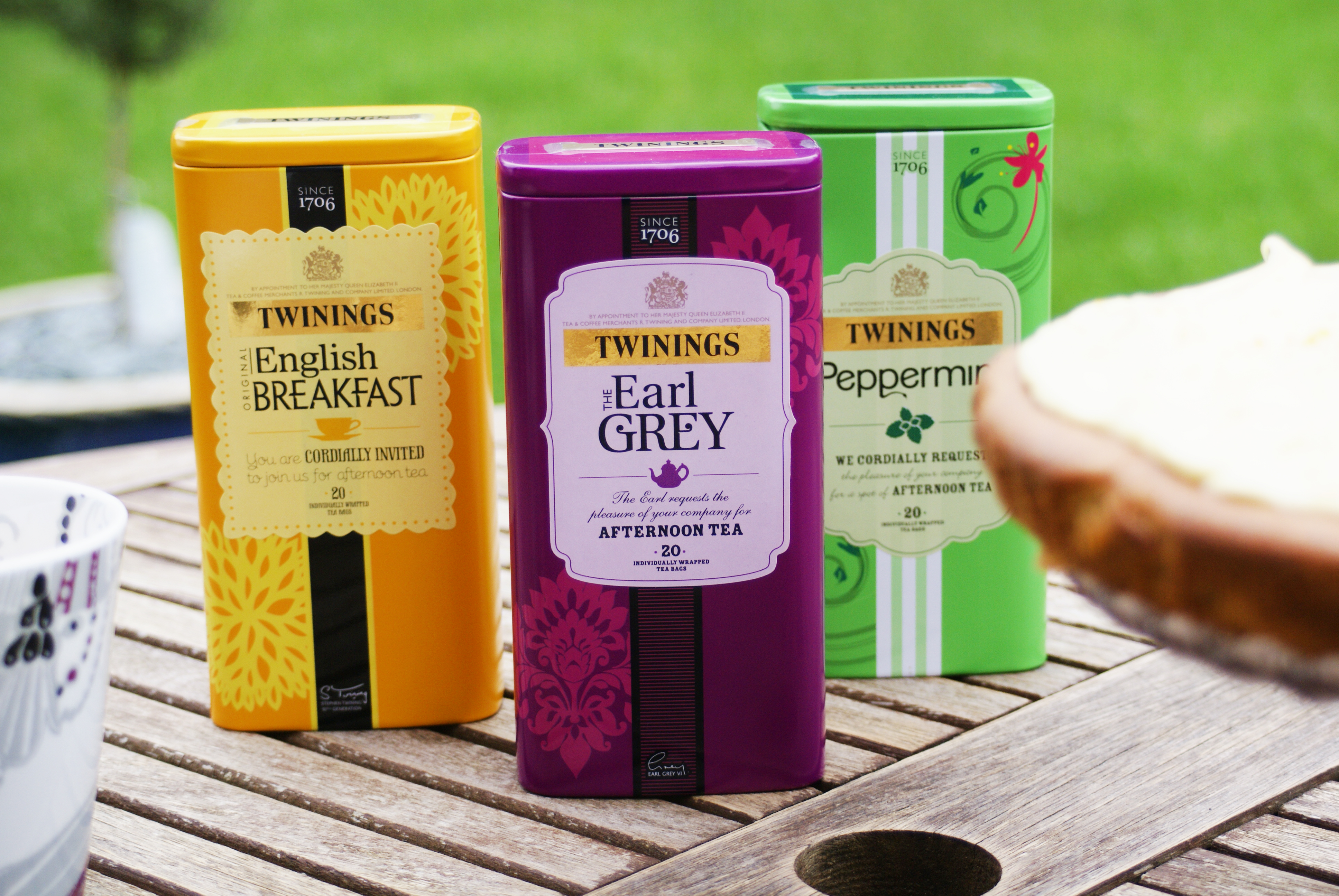 twinings tea caddys