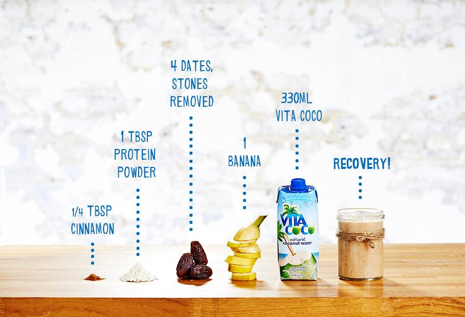 coconut water Protein shake